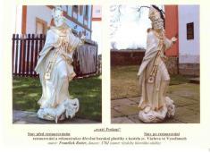 Fotogalerie soch z kostela sv. Václava ve Vysočanech